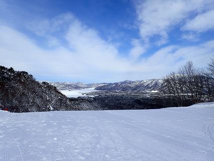 裏磐梯スキー場から